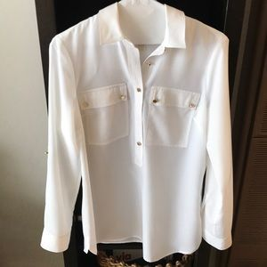Michael Kors White Button up